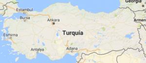 Superficie del territorio de Turquia