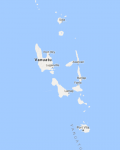 Superficie del territorio de Vanuatu