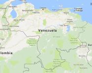 Superficie del territorio de Venezuela