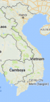 Superficie del territorio de Vietnam
