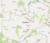Superficie del territorio de Zambia