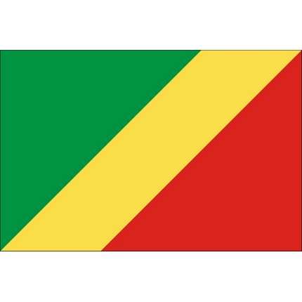 Bandera De República Del Congo Banderas Del Mundo