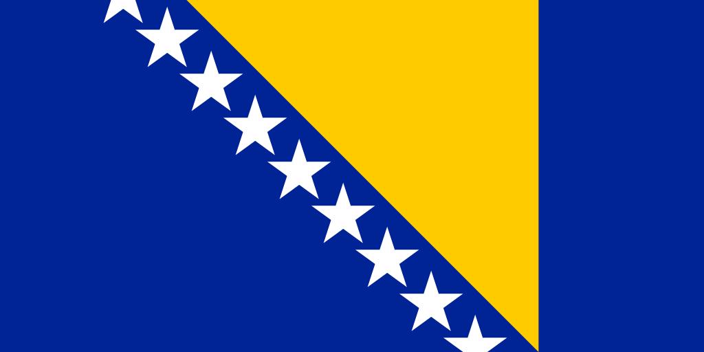 ▷ Bandera de Bosnia y Herzegovina - Banderas del Mundo, ++