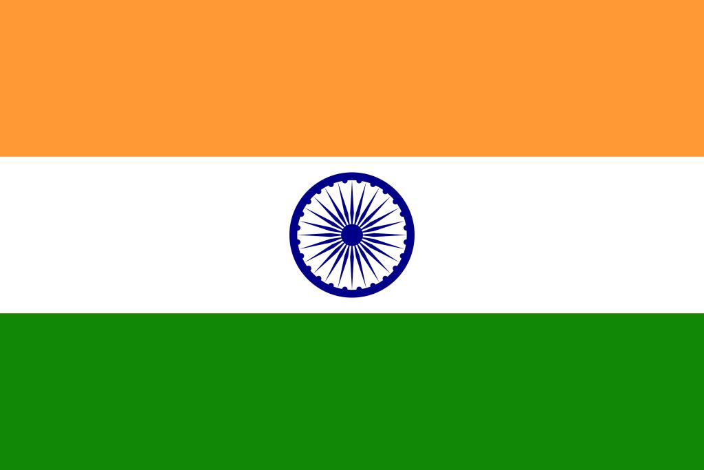 ▷ Bandera de India - Banderas del Mundo, ++