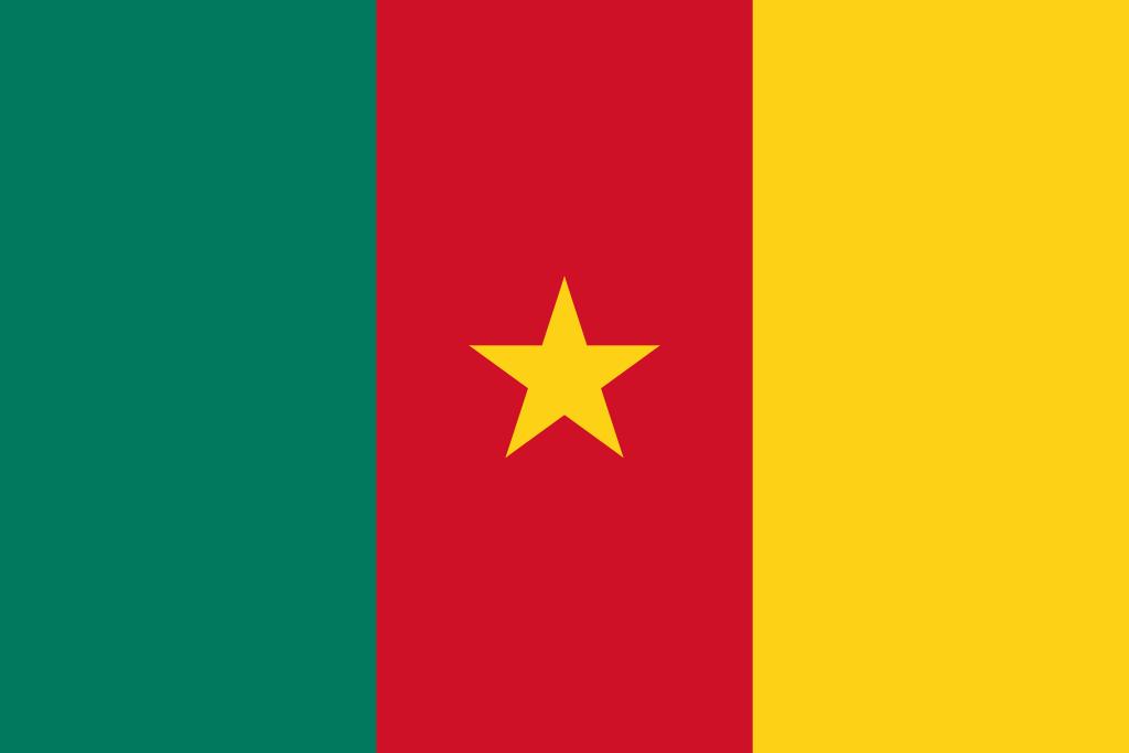 Bandera de Camerún