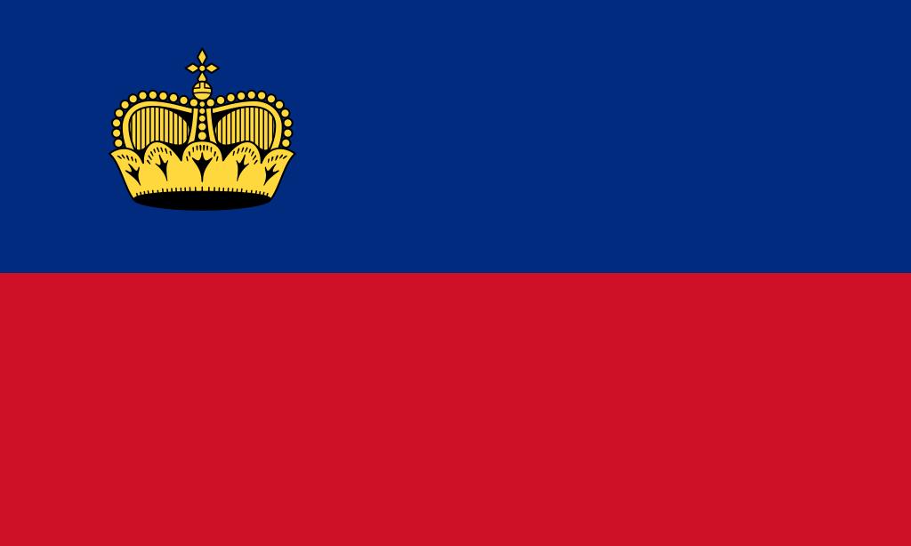 Bandera de Liechtenstein