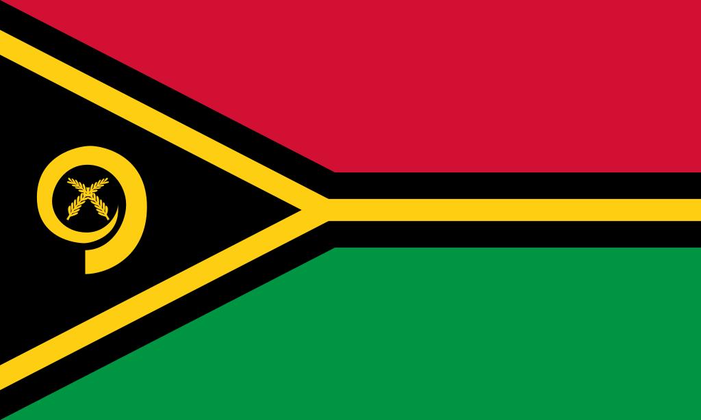 Bandera de Vanuatu