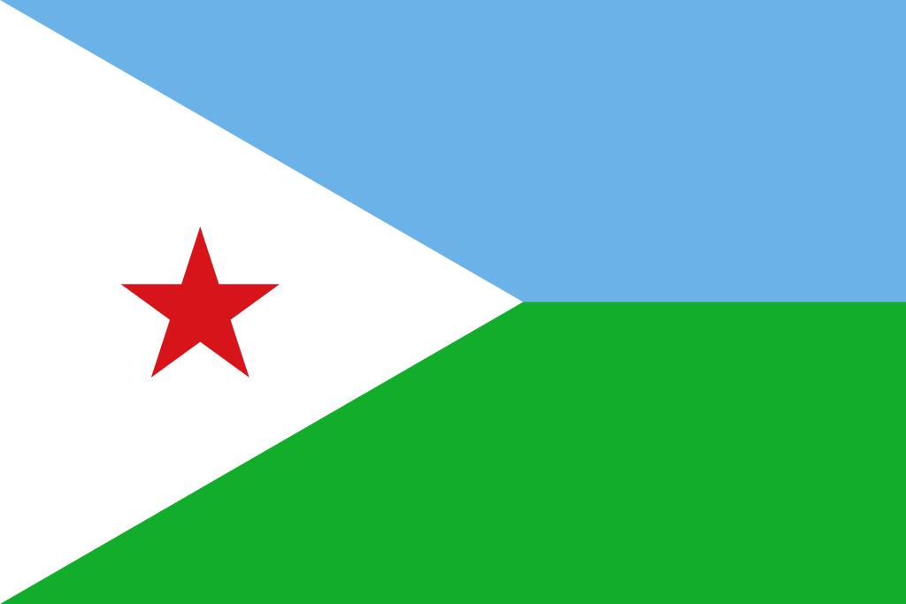 Bandera de Yibuti